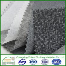 La mejor calidad barata al por mayor de la tela usada para el paño Interlining no tejido