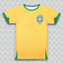 Camisa al por mayor del fútbol del club del diseño de Lastest / camisa del balompié