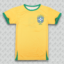 Рубашка футбола / рубашка футбола клуба самого последнего конструктора самая последняя