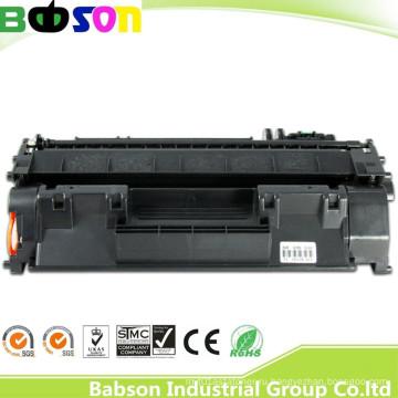 Совместимый с тонером черный картридж Ce505A для прямой продажи на заводе для HP