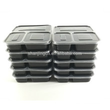 plastic airtight food storage container with sealed lid