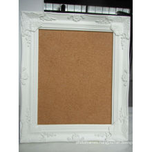 classic antique carving flowers wood frame corkboard handicraft for deco