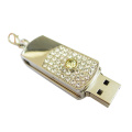 New Style Pen Drive Metal Swivel Memory Stick