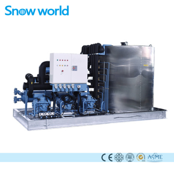 Machine à glace en flocons à refroidissement direct Snow world 25T
