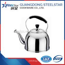201# Flat Bottom stainless steel whistling kettle