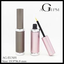 Aluminio triángulo delineador de ojos tubo/delineador envase AG-ELN01, empaquetado cosmético de AGPM, colores/insignia de encargo