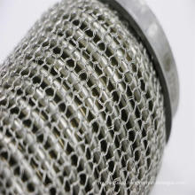 Exhaust Flex Pipes with Inner Bellows Ourer Wire Mesh in Grade 201