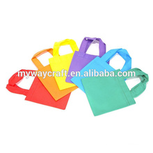 2015 popular simple design colored non-woven tote bag