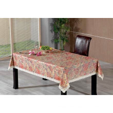 Embossed and Elegant PVC Tablecloth From Factory at Competitive Price