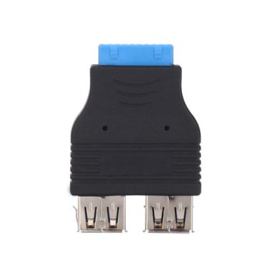 2 Portas USB 3.0 A Female to 20 PIN Adapter