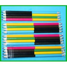 Lápis de cor não tóxico de duplo