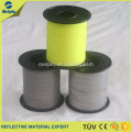 Red/Yellow 2.0mm Double size Reflective Thread Yarn