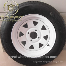 13X5.5 excellent trailer wheel rim for cars