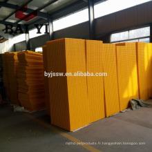 Cage mobile de transport de poulet de vente chaude / transporteur
