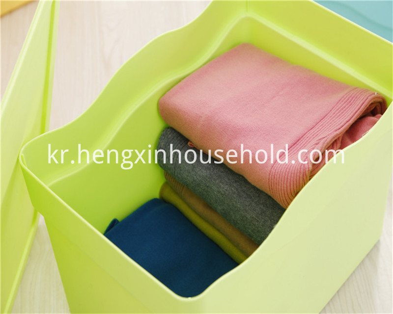 Store-It-All Plastic Shelving Tote