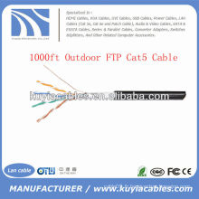 1000FT 4pairs Outdoor Cat5 Granel Network FTP Wire