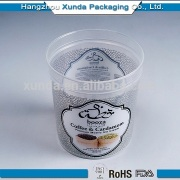 2014 best selling acrylic clear food display container