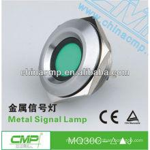 CMP 30mm metal waterproof large led signal lamp