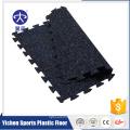 Feuille extérieure de tuile de plancher de caoutchouc de tapis de patio