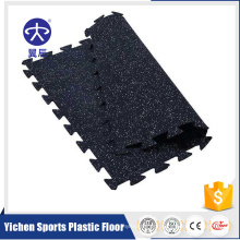 rubber sports floor mat used badminton racket