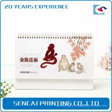 Proveedor chino Muestra gratis de oro staming Playmate Wall Calendar
