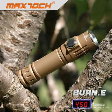 Maxtoch quemadura. EDC E exquisito Led Mini luz estroboscópica