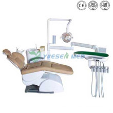 Ysgu350A Dental Unit with Real Leather Chair Medical Equipment