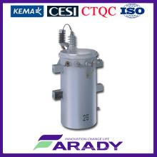 Elektrischer Transformator Preis für 11kv 100kVA Öl Eingetaucht Pole Mounted Csp Transformator