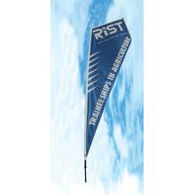 Banner ao ar livre para banner de publicidade de voar
