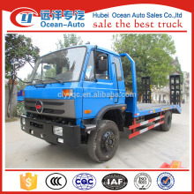 2016's new dongfeng 1-10T flatbed camión caja plana para la venta
