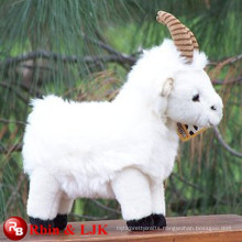 Meet EN71 and ASTM standard ICTI plush toy factory wholesale goat plush toy
