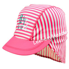 Swimming Fashion Spandex Striped Cap