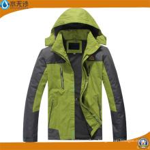 Chaqueta caliente al aire libre del invierno de la manera de la chaqueta del esquí de los hombres del OEM
