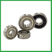 Angular contact rolling ball bearings
