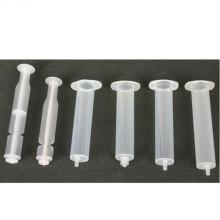 Jeringas piezas de moldeo por inyección de plástico