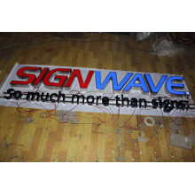 3D Outdoor Plastic Letters for Signs Manufacturing