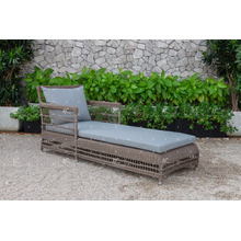 PE Rattan Sun Lounger for Outdoor Garden, Beach and Resort from Vietnam