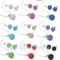 10mm Clay Crystal Disco Ball Shamballa Beads To Make Shamballa Jewelry Sets