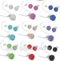 10mm argila cristal bola de discoteca Shamballa Beads para fazer conjuntos de jóias de Shamballa