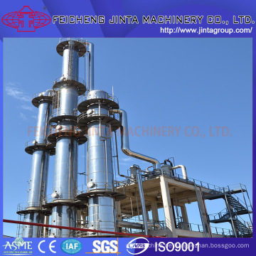 99,9% Alkohol / Ethanol Schlüsselfertige Projekt Dampfdestillationsanlagen
