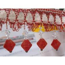 new colorful large national style tassel for hometextile