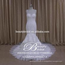видеть сквозь назад русалка свадебные платья фабрика прямые вышитые свадебное платье алибаба