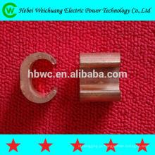 braçadeira de fio de cobre de alta qualidade do fabricante