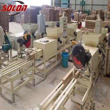 Machines à fabriquer des blocs de palettes en bois