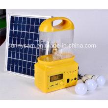 Linterna que acampa solar recargable del LED para el uso al aire libre