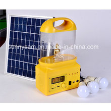 Lanterne solaire rechargeable de camping de LED pour l'usage extérieur