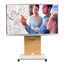75 led interaktive panel zeigt smart board tv
