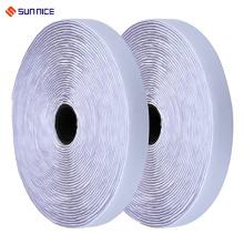 Crochet de ruban adhésif et bande de boucle en nylon auto-adhésifs de haute qualité