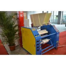 Máquina cortadora y rebobinadora de film estirable