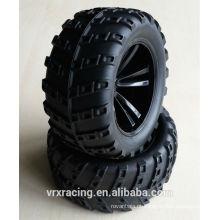 Pneus para 1/10sclae Rc caminhão, rodas para carro rc 1/10 para venda